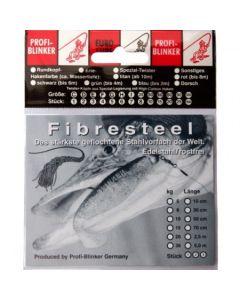 Fibresteel Montage mit 2 Schlaufen 70cm 35kg