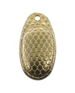 PROLLEX French Style Weitwurf Spinner schuppen gold Größe 2