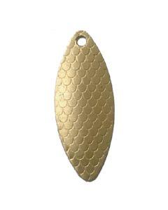 PROLLEX Long Weitwurf Spinner schuppen gold Größe 4
