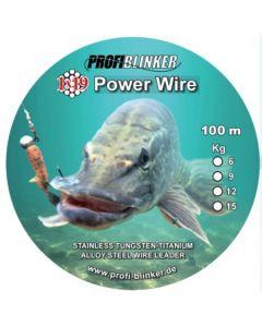 Power-Wire Stahlvorfächer 100 Meter - 6kg Tragkraft bronze