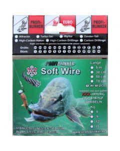 Soft-Wire Stahlvorfächer 5 Meter - 6kg Tragkraft